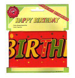 Happy Birthday Kordonszalag