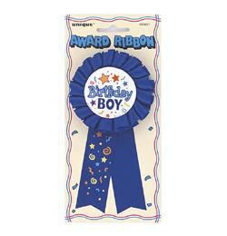 Birthday Boy Feliratú Szülinapi Szalagos Parti Kitűző