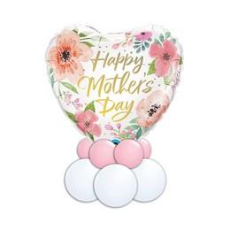 Tavaszi Virágmintás – Anyáknapi asztaldísz