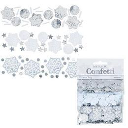 3 féle Hópehely Konfetti Válogatás - 34 gramm