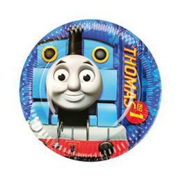 Thomas és Barátai - Thomas and Friends Parti Tányér - 18 cm, 8 db-os