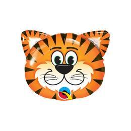 14 inch-es Tickled Tiger - Tigris Fej Fólia Lufi Pálcán