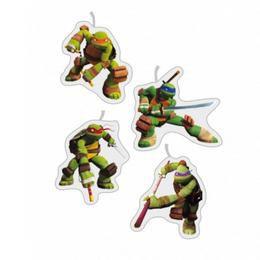Teenage Mutant Ninja - Tini Nindzsa Parti Gyertya Szett - 4 db-os