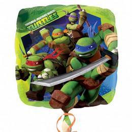 18 inch-es Tini Nindzsa - Teenage Mutant Ninja Turtles Héliumos Fólia Lufi