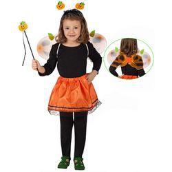 Tök Mintás Jelmez Szett Gyerekeknek Halloween-ra