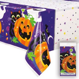 Tökös Happy Halloween Asztalterítő