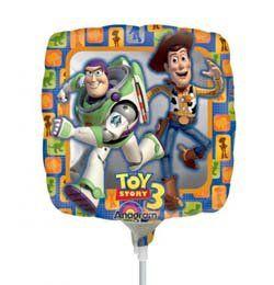 9 inch-es Toy Story 3 Fólia Lufi Pálcán
