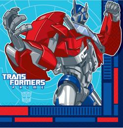 Transformers Parti Szalvéta - 33 cm x 33 cm, 16 db-os