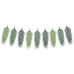 Trópusi Levelek Dekorációs Füzér - 125 cm