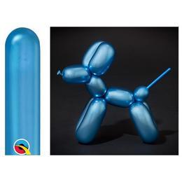 260Q Blue - Kék (Chrome) Party Modellező Lufi (100 db/csomag)