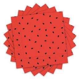 Görögdinnye Mintás Party Szalvéta - 33 cm x 33 cm, 20 db-os