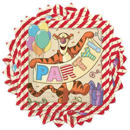 Micimackó és Barátai - Winnie The Pooh Party Szalvéta - 33 cm x 33 cm, 20 db-os
