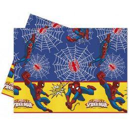 Ultimate Spiderman Power - Pókember Parti Asztalterítő - 180 cm x 120 cm