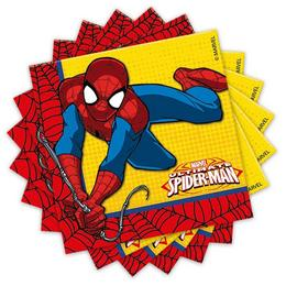 Ultimate Spiderman Power - Pókember Parti Szalvéta - 20 db-os, 33 cm x 33 cm