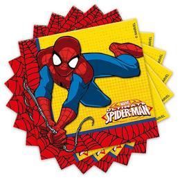 Ultimate Spiderman Power - Pókember Parti Szalvéta - 20 db-os, 33 cm x 33 cm
