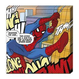Pókember - Ultimate Spiderman Parti Szalvéta - 33 cm x 33 cm, 20 db-os
