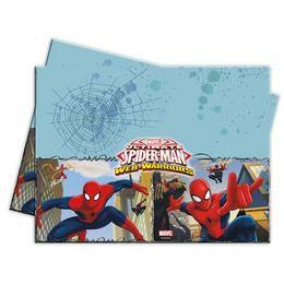 Ultimate Spiderman Web-Warriors - Pókember Parti Asztalterítő - 180 cm x 120 cm