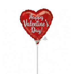 9 inch-es Valentine Sparkle Szerelmes Mini Shape Fólia Lufi