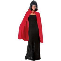 Piros Női Vámpír Köpeny