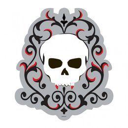 Vámpír Koponya Dekorációs Karton Halloweenre