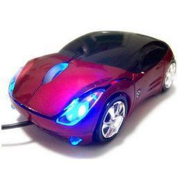 Verda USB Egér - Piros