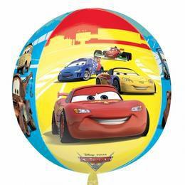 Cars - Verdák Ultra Shape Orbz Fólia Lufi