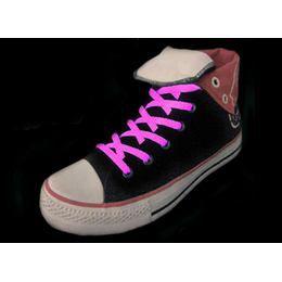 Világító Cipőfűzők - Rózsaszín