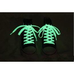 Világító Cipőfűzők - Zöld