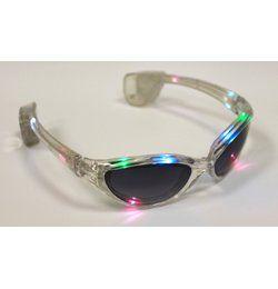 Színes Világító LED-es Parti Szemüveg
