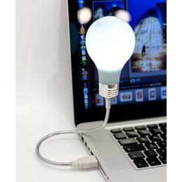 Villanykörte USB Lámpa