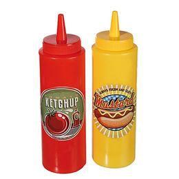 Ketchup és Mustár Flakon