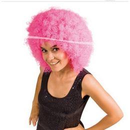 XXL Pink Afro Paróka