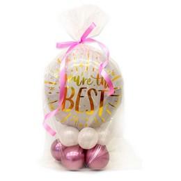 You're the Best - Te Vagy a Legjobb Pink Asztaldísz