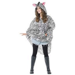 Zebra Party Poncho
