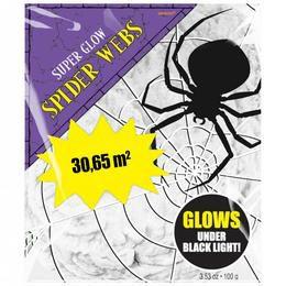 UV Fényben Világító Pókháló