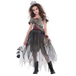 Zombi Bál Királynő Jelmez Halloweenre, 14-16 Éveseknek