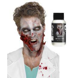 Zombi Folyékony Latex - Fehér, 28 ml - Ammóniamentes