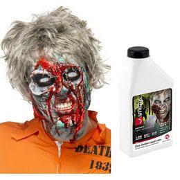 Zombi Folyékony Latex - Fehér, 455 ml