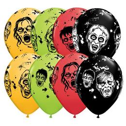 11 inch-es Zombies - Zombik Special Assortment Lufi Halloween-ra (25 db/csomag)